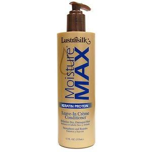 (Lustrasilk Moisture Max Keratin Protein Leave-In Creme Conditioner)