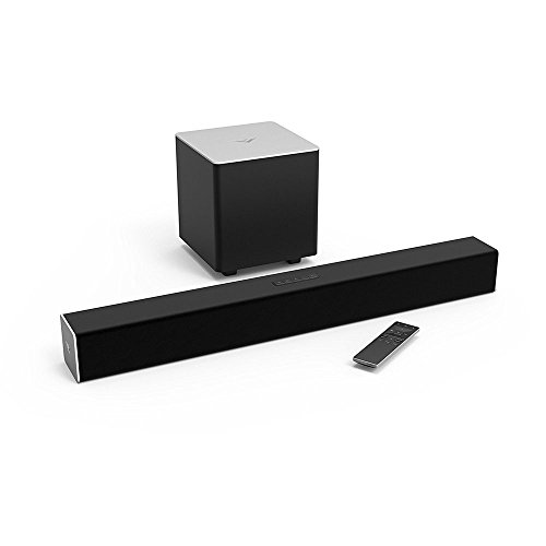 VIZIO SB2821-D6B 28'' 2.1 Sound Bar, Black (Certified Refurbished) by VIZIO
