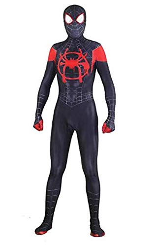 Superhero Zentai Bodysuit Halloween Christmas Cosplay Costumes Adult/Kids (Adult-M((Height 160-165cm), Costume and Mask) -