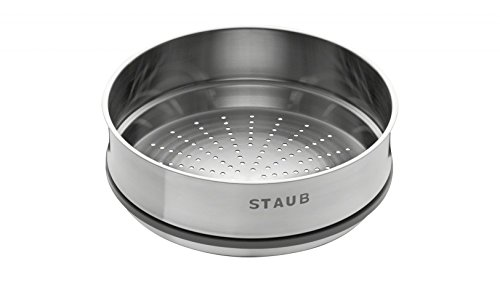 Staub 40511 363/0 Steam Insert 26 cm Cast Iron, Dark Blue 40511-363-0