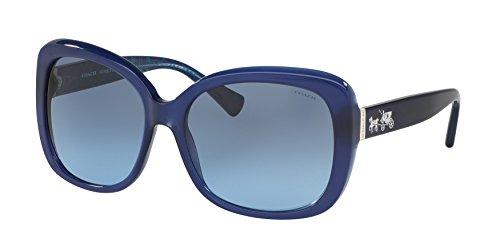 COACH Women's 0HC8158 Milky Navy - Sunglasses Coach Usa