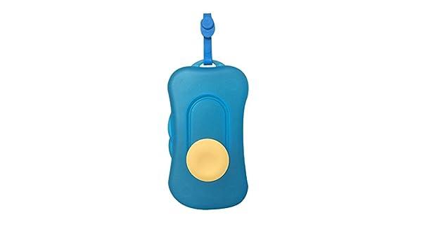 Portátil para toallitas húmedas de viaje para cosméticos dispensador de toallitas caja de toallitas húmedas para bebé Kid azul azul: Amazon.es: Bebé