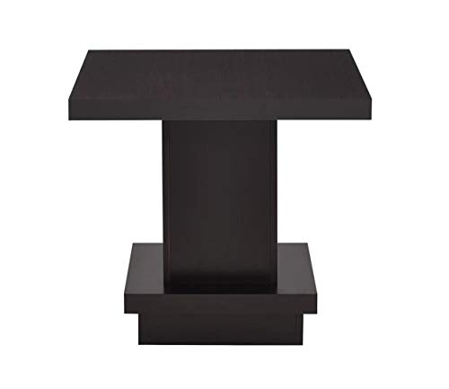 Coaster Home Furnishings 705167 Pedestal End Table Cappuccino