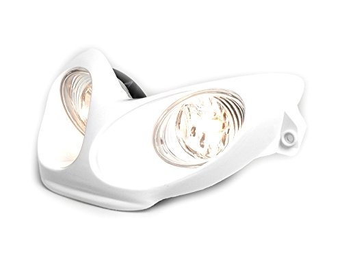 Scheinwerfer BGM Yamaha Aerox MBK Nitro 50 wei/ß Lampe Licht Neuware