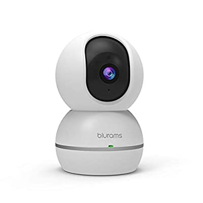 blurams Dome Security Camera | 1080P WiFi Indoor Pan/Tilt/Zoom, Privacy Mask, Motion/Sound Detection, Instant Alert, Night Vision, Two-Way Audio | Cloud Storage Included | Works with Alexa by Hangzhou Vision Insight Technology Co., Ltd.