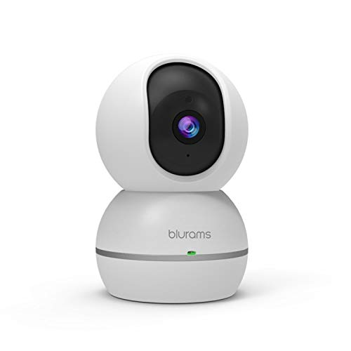 blurams 1080p Dome Security Camera PTZ Surveillance System with Motion Sound Detection, Smart AI Alerts, Privacy Mode, Night Vision, Two-Way Audio Cloud Local Storage Available Works with Alexa