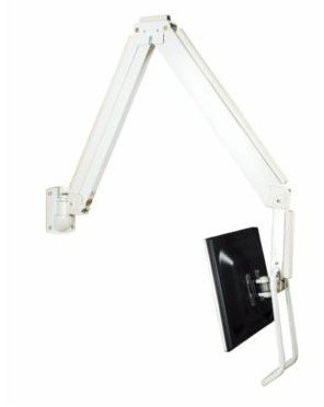 - Tyke Supply llc LCD Wall Mount w/ Handle Extra Long Arm Gas Spring Hospital, Doctor, Dentist, Medical Arm