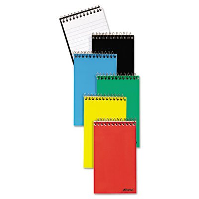 Wirebound Pocket Memo Book, Narrow Rule, 3 x 5, White, 60-Sheet, 3/Pack, Sold as 3 Each