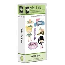 Cricut Lite Cartridge - Twinkle Toes by Cricut (Image #1)
