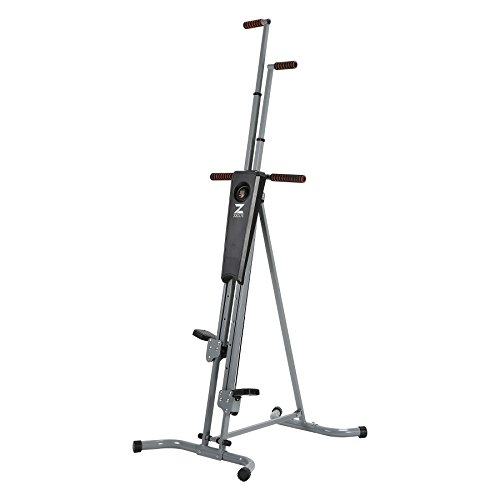 Z ZELUS Vertical Climber Machine Fitness Climbing Equipment for Home Gym Step Climber Exercise Machine