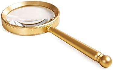 ZY-YY ハンドヘルド拡大鏡HDグラスハイパワー光拡大鏡タブレット高齢者の子供レディング拡大鏡