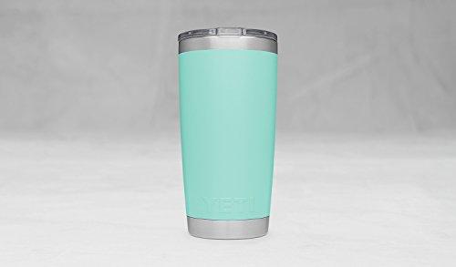 YETI Rambler 20 oz Stainless steel vacuum Insulated Tumbler w MagSlider cover Seafoam Glassware Drinkware