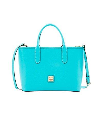 Dooney & Bourke Saffiano Brielle Top Handle Bag Calypso