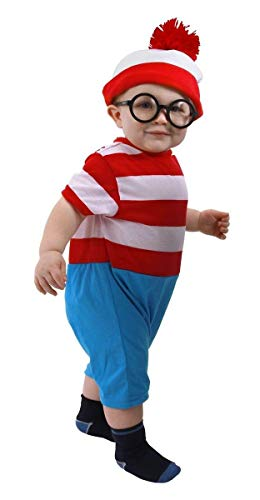 Waldo Infant Onesie, Red, 12-18 Months
