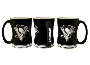 Pittsburgh Penguins Coffee Mug - 14oz Sculpted - Pittsburgh Outlet Stores Mall