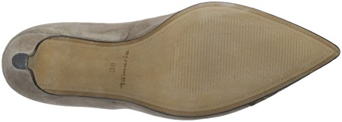 Tamaris 22497, Zapatos de Tacón para Mujer Marrón (TAUPE 341)