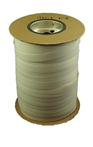 White Batten Tape-vinyl Tape-3/4'' X 500 Ft to Attach Greenhouse Film by Growers Solution