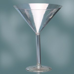 Plastic Martini Glass 12'' Cup Candybar Decoration All Party Occasion by onlinepartycenter
