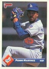 Amazoncom 1993 Donruss Baseball Card 326 Pedro Martinez