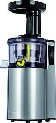 MPM Licuadora de Prensado En Frio 150 W, Gris: Amazon.es: Hogar