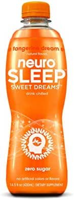 Neuro SLEEP Tangerine Dream, 14.5 Fl Oz (Pack of 12) (Packaging May Vary)