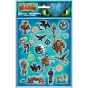 or Any Fun Occasion Sports Gathering Play Day Kids Party Stickers and Tattoos Bek HTTYD How to Train Your Dragon 3 Stickers and Tattoos for Birthdays