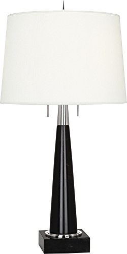 Robert Abbey Florence Black Marble Table - Black Abbey Table Lamp Robert