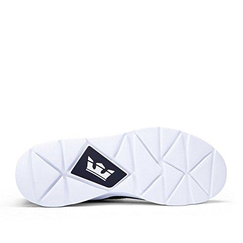 Supra NOIZ black white-white