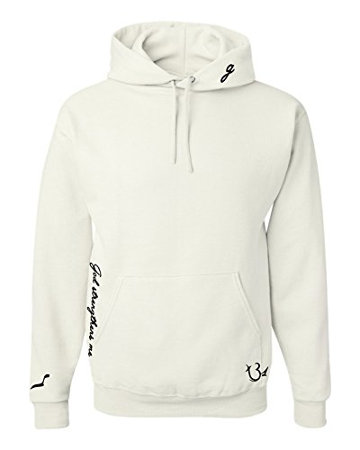 Allntrends Adult Hoodie Sweatshirt Selena Gomez Tattoos Cool Fans Gift (S, White) ()