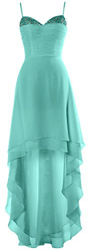 Beaded Low Formal Party Dress Prom Turquoise Gown High Cocktail Homecoming MACloth 4E58HFwn