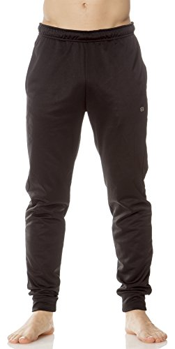(L63460) Layer 8 MensTech Fleece Jogger in Black Size: M (Old Navy Tech Vest compare prices)
