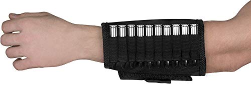 BRONZEDOG Ammo Pouch Waterproof Shotgun Shell Holder Nylon Cartridge Case for Hand 12 Gauge or .30-30 .308 Caliber Hunting Accessories