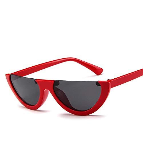 Designer Pour Marque Demi Lunettes Femmes Monture Mode Cat Red Clear Femme Eye De Cool La cadre Sans Tyjyy Soleil À aTZd0Zw