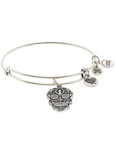 Alex and Ani Calavera Rafaelian Bangle Bracelet
