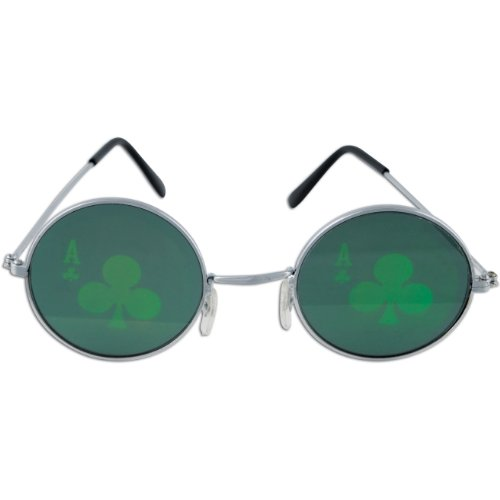 Casino Club Fanci-Frames Party Accessory (1 count) - Sunglesses