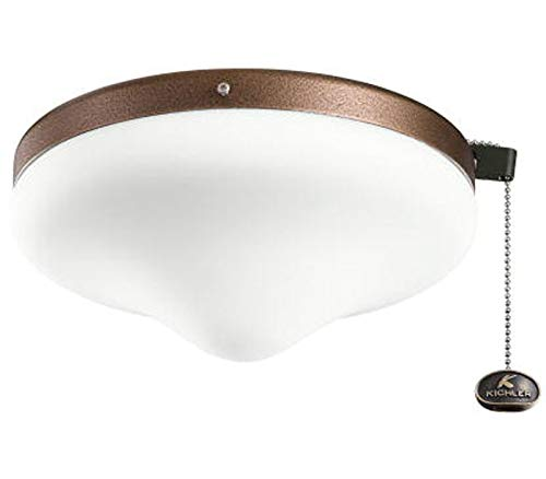 Kichler 338050WCP Outdoor Wet Light Kit, Weathered Copper Powder Coat