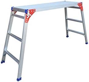 C-J-Xin Tres escalera de mano, cuatro pasos de aluminio escalera de metal trabajos caseros Plataforma/Fotografía/escalera gran carga 330 libras Escalera de casa (Size : GZ3090): Amazon.es: Bricolaje y herramientas