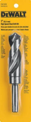 Dewalt DW1629 1 1/2 inch Black Oxide Reduced Shank Drill Bit