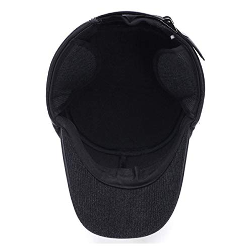 Edad Sombreros de Hombres oídos para de B Invierno para Gorras qin GLLH Sombreros Mediana los Planos Protectores Hombres C Hombres para y de béisbol hat Sombreros EafHq7