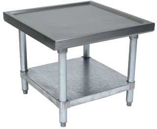 John Boos MS4-2430SSK Stainless Steel Heavy Duty Machine Stand, 30'' Length x 24'' Width by John Boos