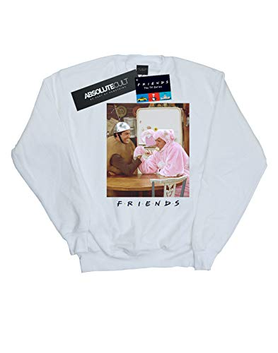 Femme shirt Arm And Chandler Wrestling Sweat Blanc Friends Ross Absolute Cult OHEqH6