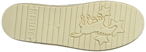 Mustang Women's 1245-202-203 Espadrilles, Ivory (203 Ice) Off-white (203 Ice)