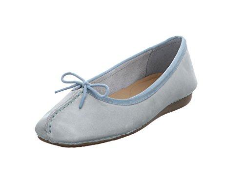 Clarks Freckle Ice, Bailarinas para Mujer Blue