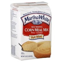 MARTHA WHITE CORN MEAL MIX SELF RISING ENRICHED WHITE 32 OZ - Cornmeal Pancake Mix