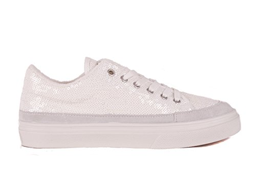 Shoes up Sneaker Ladies Lace Guess White gqItAR