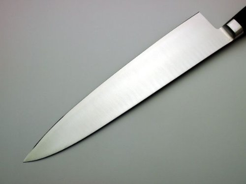 HONMAMON Gyuto (Chef's Knife) 240mm(abt 9.4 Inch), Blade Edge : Aogami Steel, Double Bevel