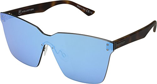 VonZipper Unisex Alt-Juice Tortoise Satin/Sky Chrome One - Sunglasses Blue Juice