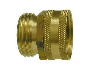 1//4 HOSE ID TO 1//4 FEMALE NPSM BRASS BALL SEAT SWIVEL CONNECTOR WOG 25 PACK