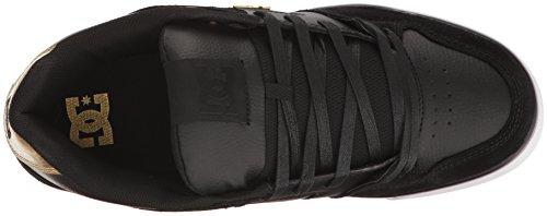 DC PURE SE Skateboard zapatos del hombre, color negro, talla 40 EU