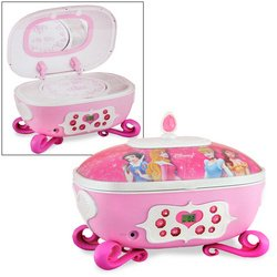 Amazoncom Disney Princess Jewelry BoxCD Boombox Toys Games
